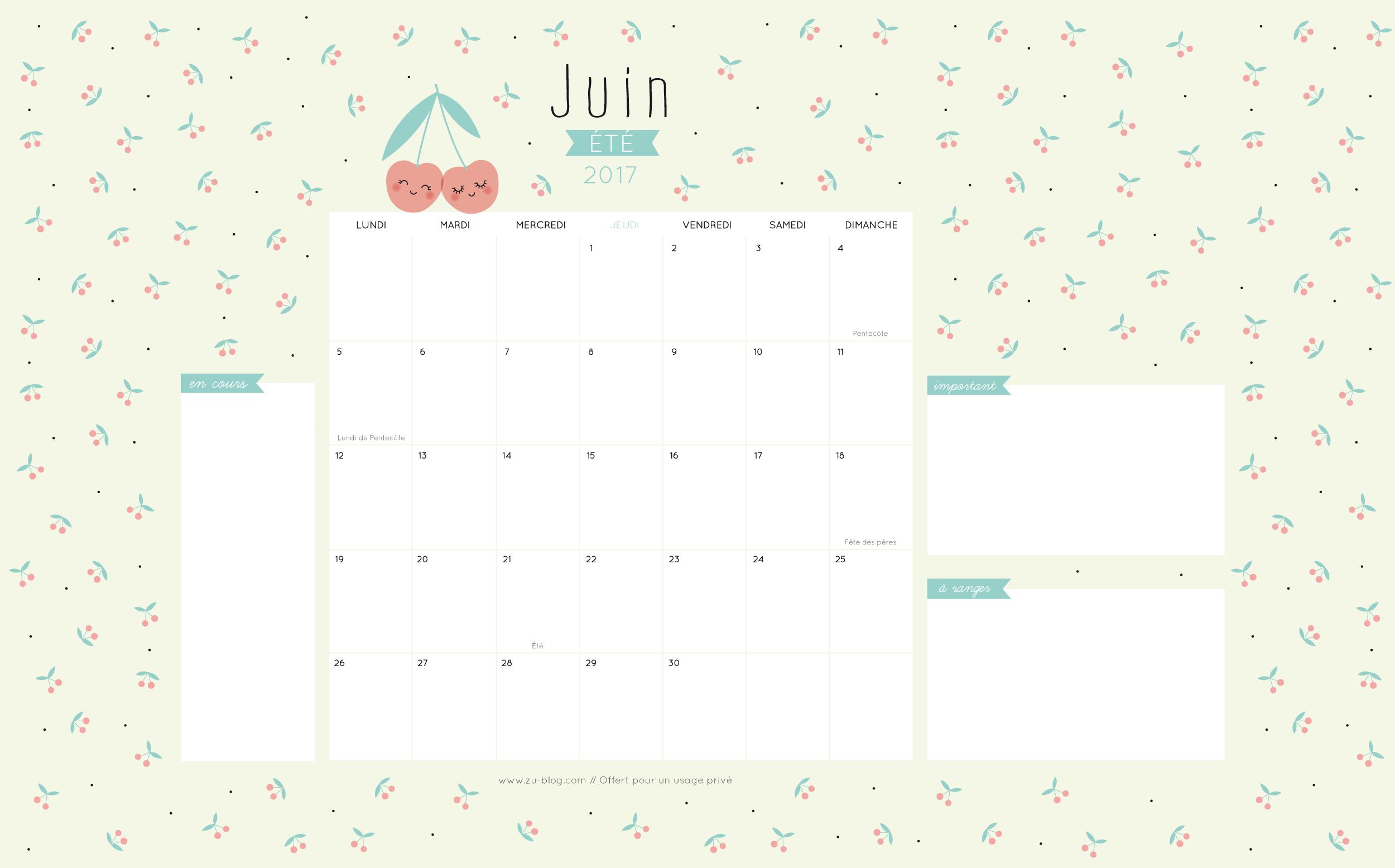 Calendar Zu : Le calendrier diy zü