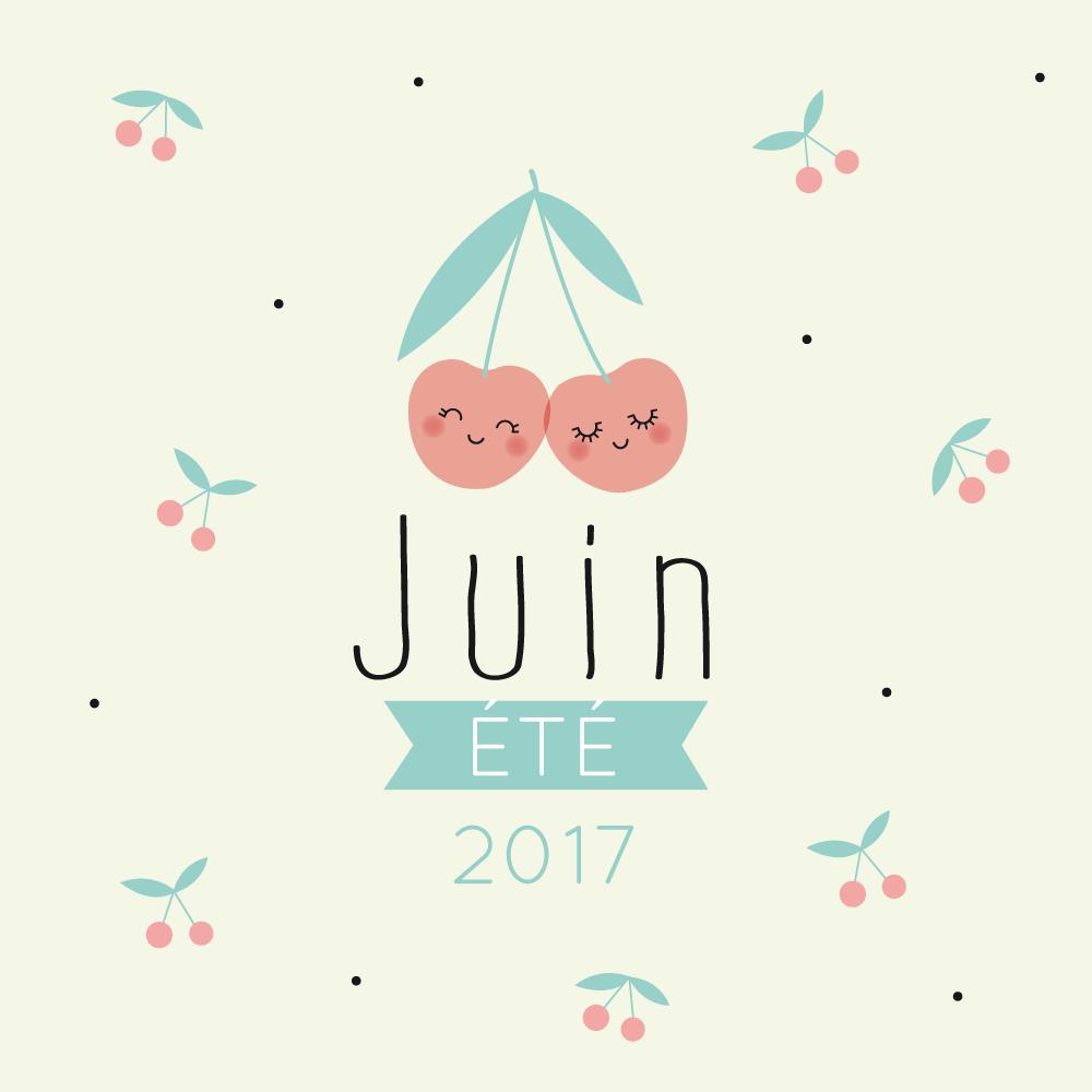 Le calendrier diy z le blog - Calendrier du mois de juin 2017 ...