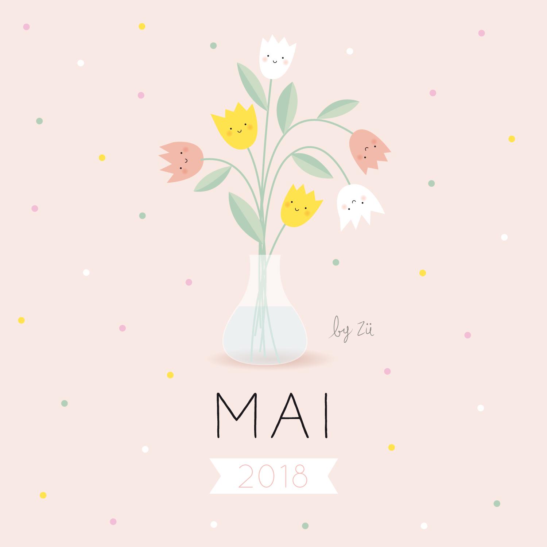 Le Calendrier Diy Mai 2018 Zu Le Blog