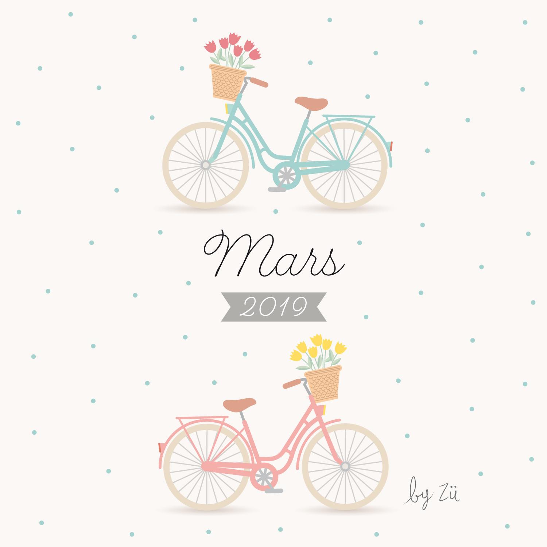 Calendrier De Mars 2019.Le Calendrier Diy Mars 2019 Zu Le Blog