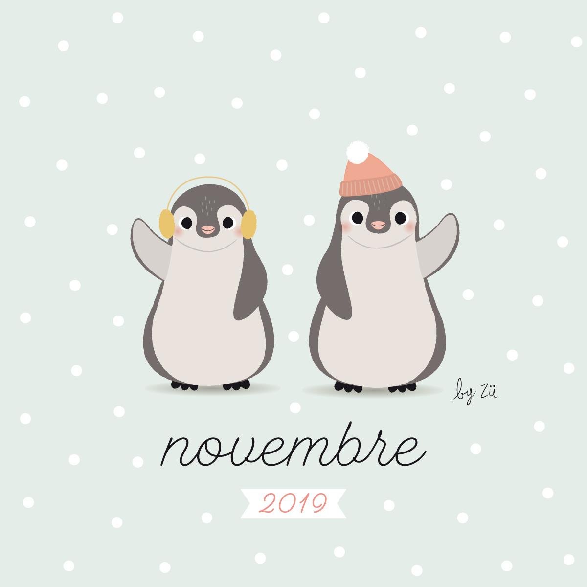 Le Calendrier Diy Novembre 2019 Zu Le Blog